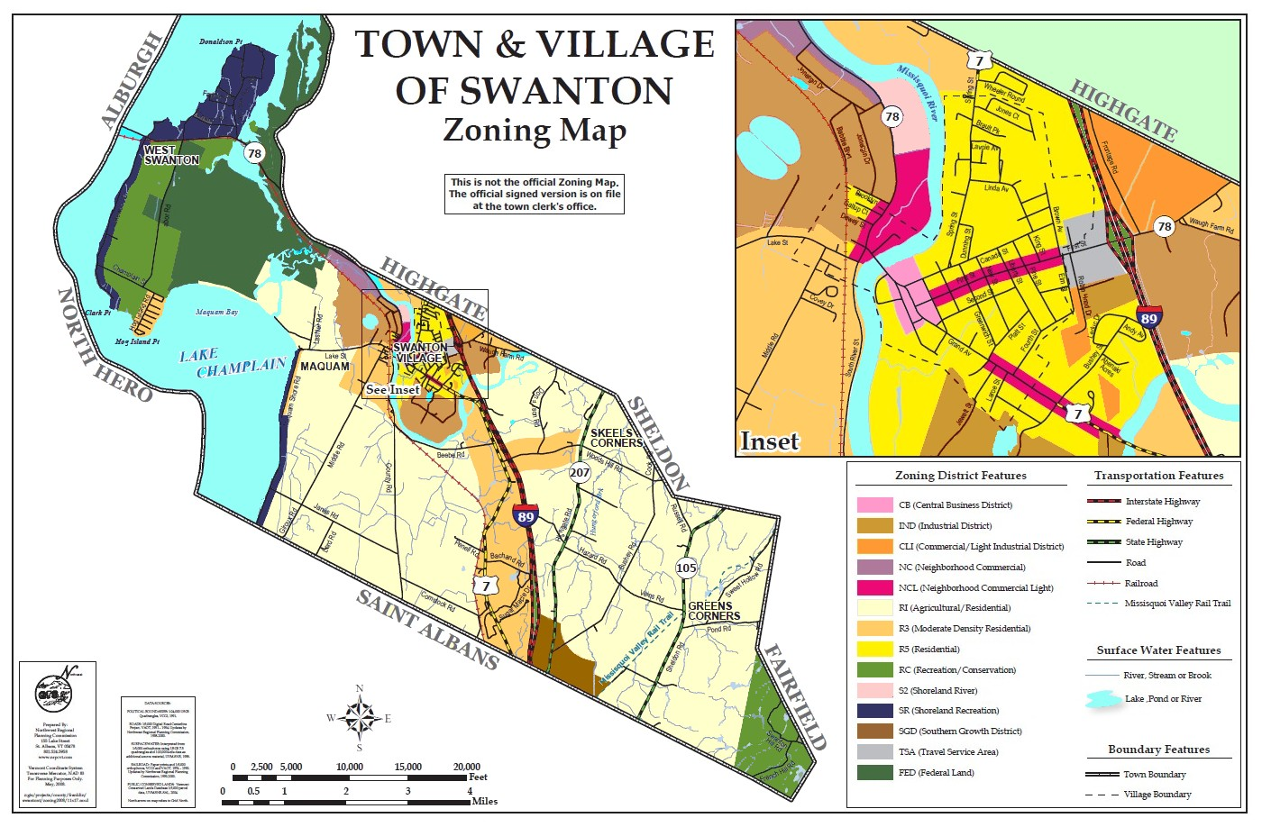 ZONING BYLAWS - Town of Swanton, Vermont 05488     Official Website